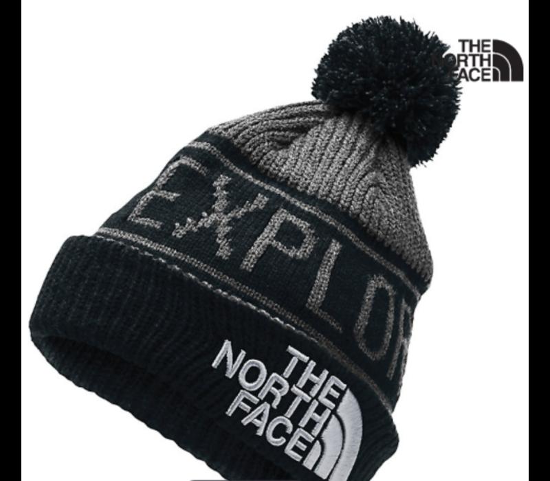 The North Face Retro Explore Pom Beanie - Youth