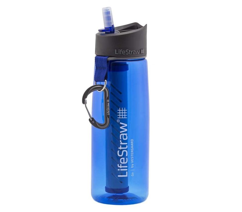 Lifestraw Go 2-Stage Microbiological and Carbon Filters 650ml Bottle