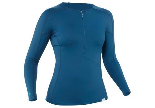 NRS NRS H2Core UPF 50+ Half-Zip Long Sleeves Rashguard - Women's