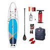 Red Paddle Co Red Paddle Co Compact 11' Inflatable 8kg SUP Board Package 2020