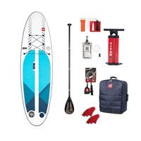 "Red Paddle Co Compact 9'6"" Inflatable SUP 7.4kg Board Package 2020"