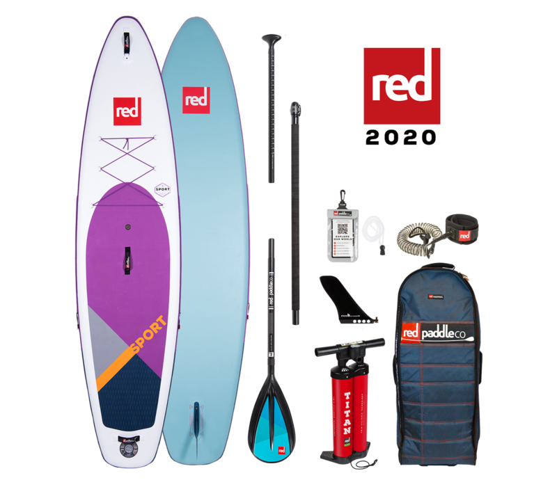 "Red Paddle Co Sport 11'3"" Special Edition Inflatable SUP Board Package 2020"