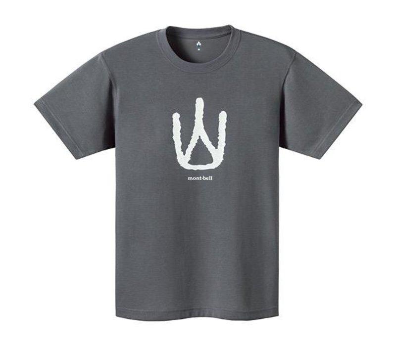 Montbell Wickron Short Sleeves Shoukeimaji Yama Tee - Men's