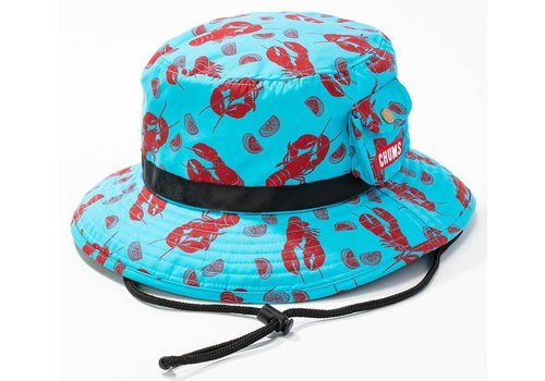 Chums Chums Lightning Mountain Hat, Teal Lobster