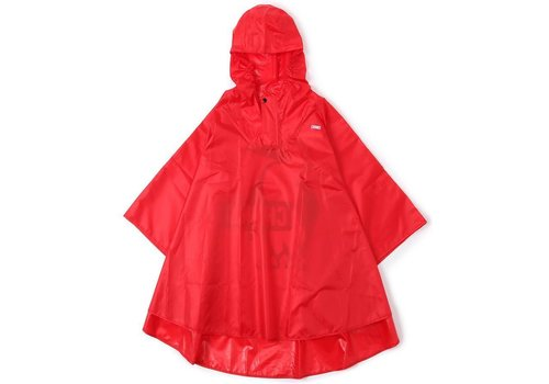 Chums Chums Poncho, Red, M