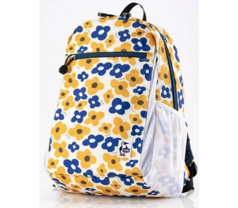 Chums ECO Day Pack 15L, Yellow Flower