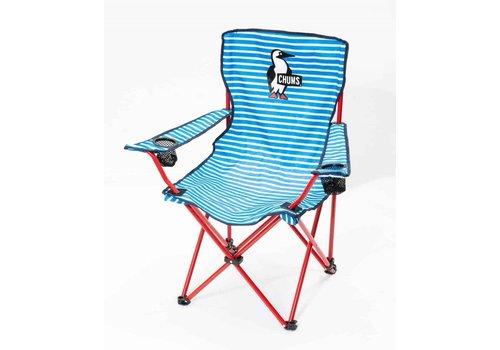 Chums Chums Easy Chair, White/Blue