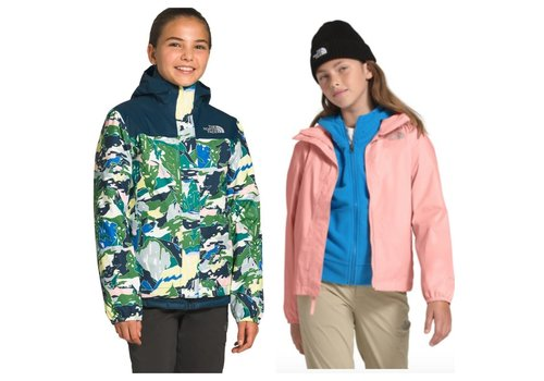 The North Face The North Face Resolve Reflective Waterpoof Jacket - Girls