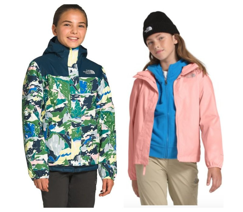 The North Face Resolve Reflective Waterpoof Jacket - Girls