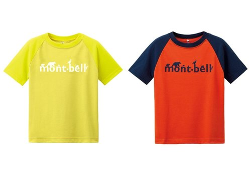 Montbell Montbell Wickron Raglan Short Sleeves Tee - Kids