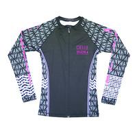 Cielle Marin Zip Long Sleeves UPF50+ Rashguard - Girls