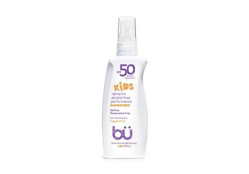 BU BU SPF 50 Sunscreen Spray For Kids 30ml