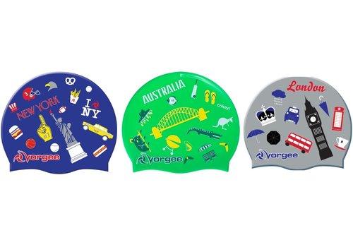 Vorgee Vorgee Global Swim Cap