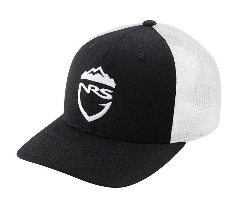 NRS Fishing Trucker Hat, Black