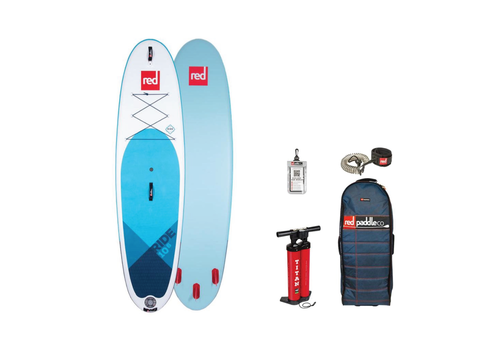 """Red Paddle Co Red Paddled Co Ride 10'6"""" MSL Inflatable SUP Board Package 2020"""