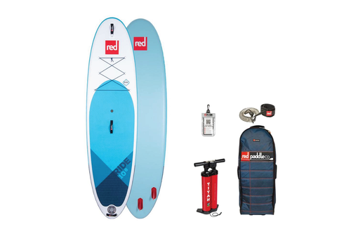 """Red Paddle Co Red Paddled Co Ride 10'8"""" MSL Inflatable SUP Board Package 2020"""