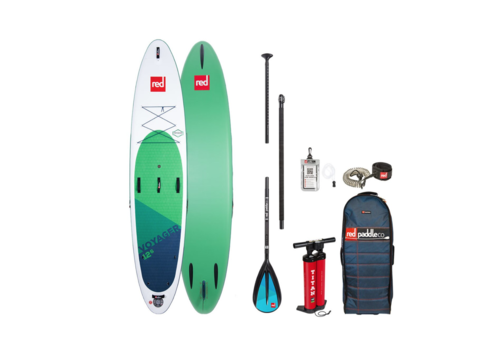 "Red Paddle Co Red Paddle Co Voyager 12'6"" MSL Inflatable SUP Board Package  2020"