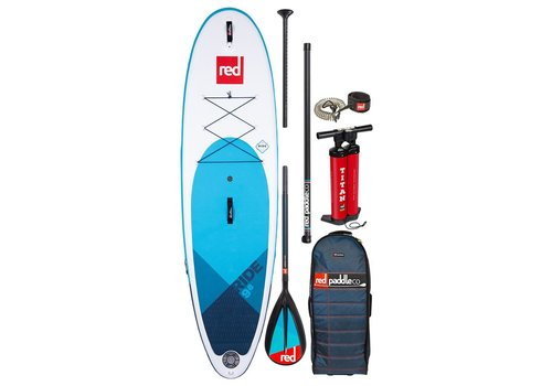 "Red Paddle Co Red Paddle Co Ride 9'8"" MSL SUP Inflatable Paddle Board Package 2020"