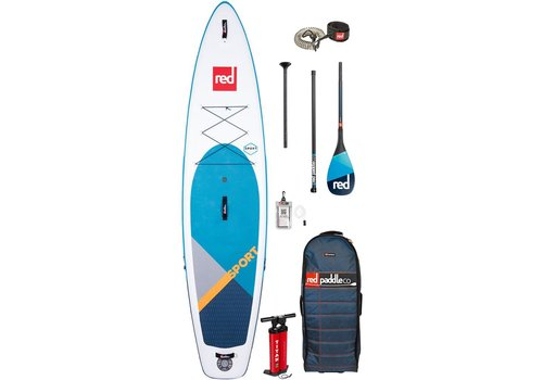 "Red Paddle Co Red Paddle Co 11'0"" Sport MSL Inflatable SUP Board Package 2020"