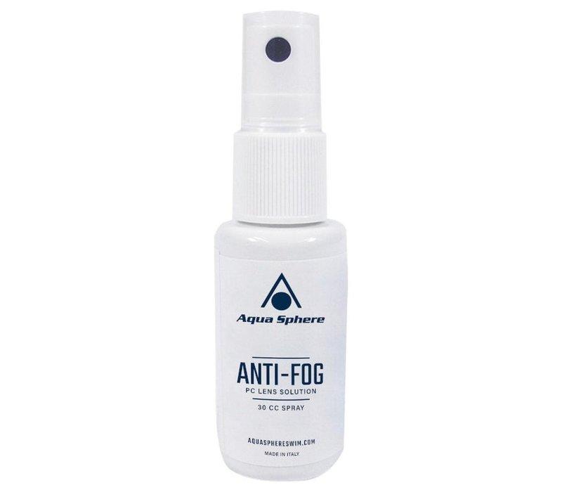 Aqua Sphere Anti-Fog Plastic Lens Spray, 30cc