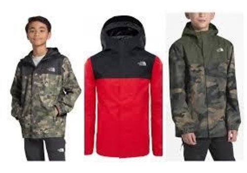 The North Face The North Face Resolve Reflective Waterproof Jacket - Boys
