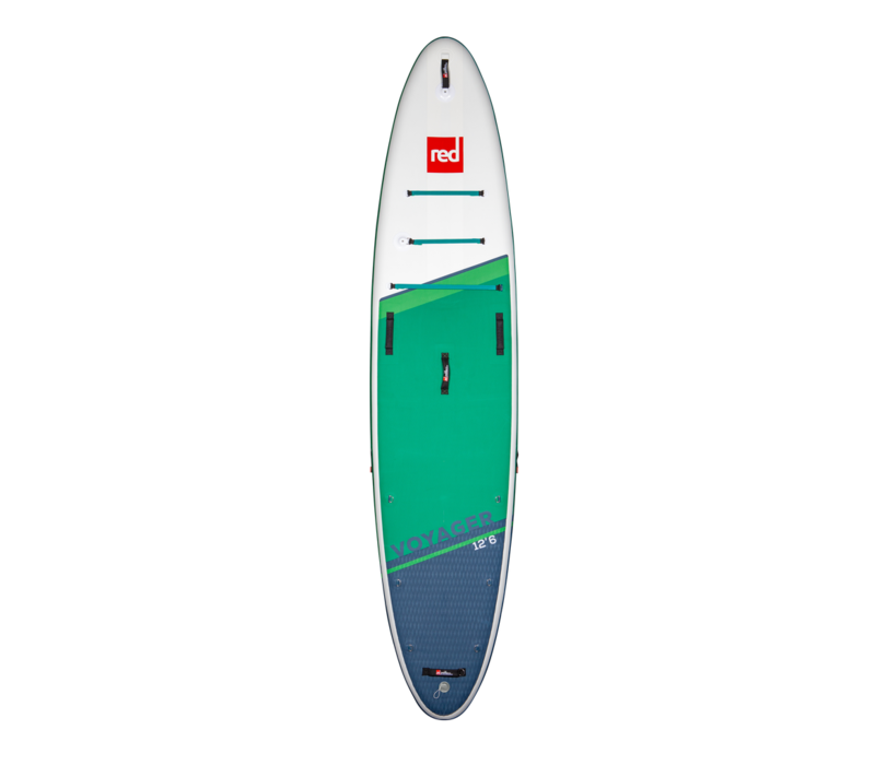 "Red Paddle Co Voyager 12'6"" MSL Inflatable SUP Board Package 2021"