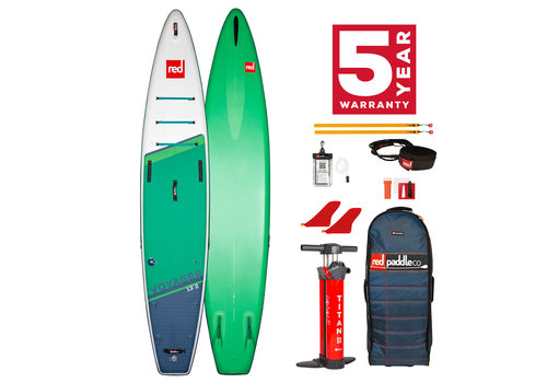 "Red Paddle Co Red Paddle Co Voyager 13'2"" MSL Inflatable SUP Board Package 2021"