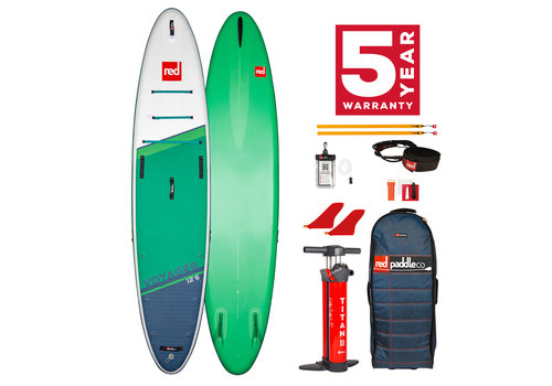 "Red Paddle Co Red Paddle Co Voyager 12'6"" MSL Inflatable SUP Board Package 2021"