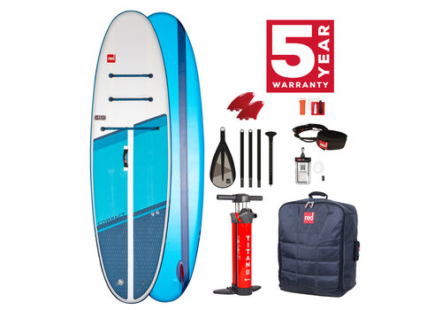 "Red Paddle Co Red Paddle Co Compact 9'6"" MSL Inflatable SUP Board Package 2021"