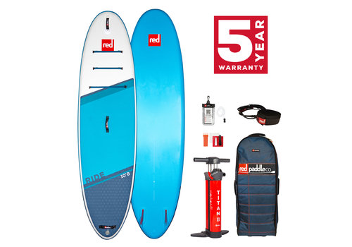 "Red Paddle Co Red Paddle Co Ride 10'8"" MSL Inflatable SUP Board Package 2021"