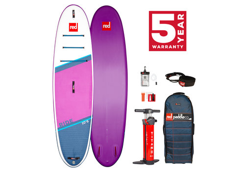 "Red Paddle Co Red Paddle Co Ride 10'6"" Special Edition MSL Inflatable SUP Board Package 2021"