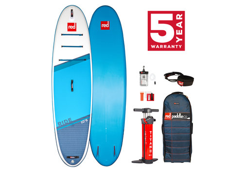 "Red Paddle Co Red Paddle Co Ride 10'6"" MSL Inflatable SUP Board Package 2021"