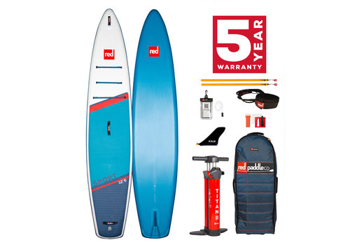 "Red Paddle Co Red Paddle Co Sport 12'6"" MSL Inflatable SUP Board Package 2021"