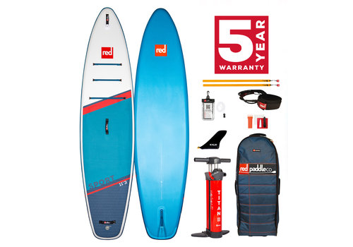 "Red Paddle Co Red Paddle Co Sport 11'3"" MSL Inflatable SUP Board Package 2021"