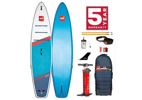 "Red Paddle Co Red Paddle Co Sport 11'0"" MSL Inflatable SUP Board Package 2021"