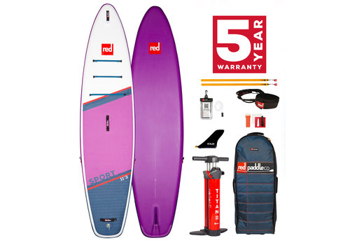 "Red Paddle Co Red Paddle Co Sport 11'3"" Special Edition MSL Inflatable SUP Board Package 2021"