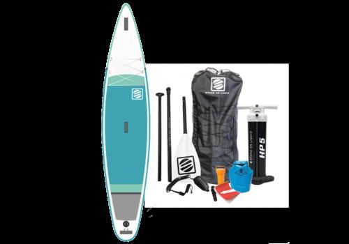 "Stand On Liquid Stand On Liquid San Juan 12'6"" Inflatable Paddle Board, Teal"