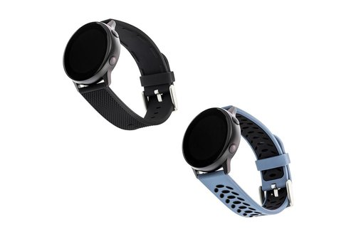 WithIt WithIt 2-Pack Silicone Bands For 20mm Samsung Smartwatches