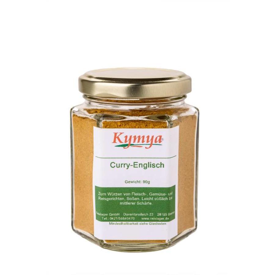 Curry Englisch, 90g Pulver