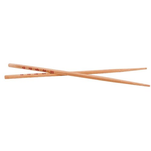 Bambus-Essstäbchen aus dunklem Bambusholz