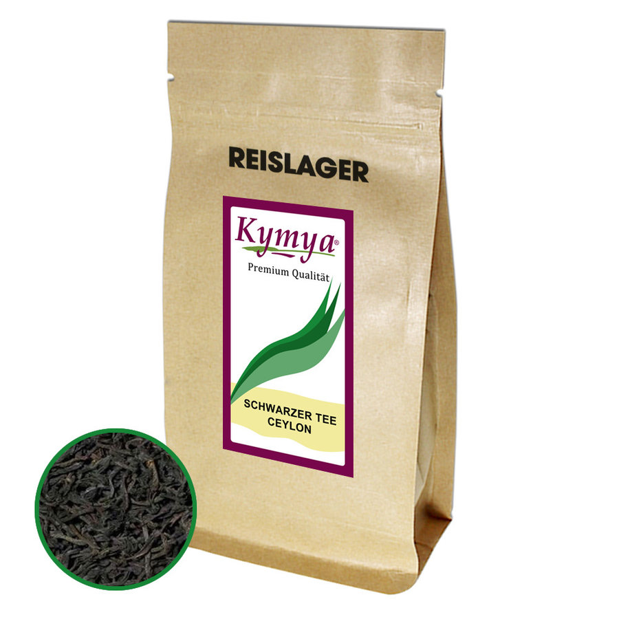 Schwarzer Tee Ceylon Premium Qualität 250g - Loser Tee