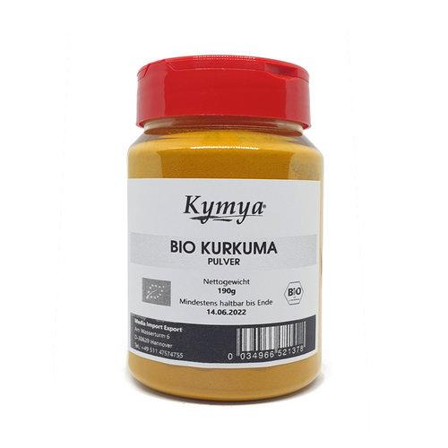 Bio Kurkuma Pulver 190g