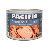 Thunfisch in Sonnenblumenöl 1,8Kg Pacific