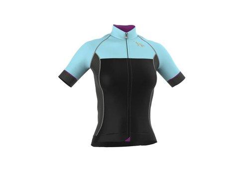 LaVos Cyclingwear Short Sleeve Jersey Celeste