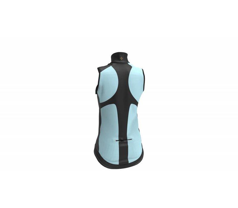 Wind and waterproof vest - Celeste