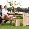 Forestry Bench 4 persoons - Outdoor Bank Buiten