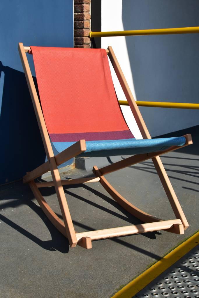 Beach Rocker Red/Blue