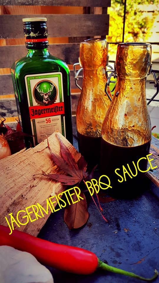 Jägermeister BBQ saus