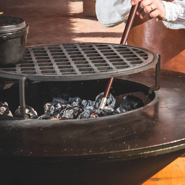 OFYR BBQ Grillrooster XL