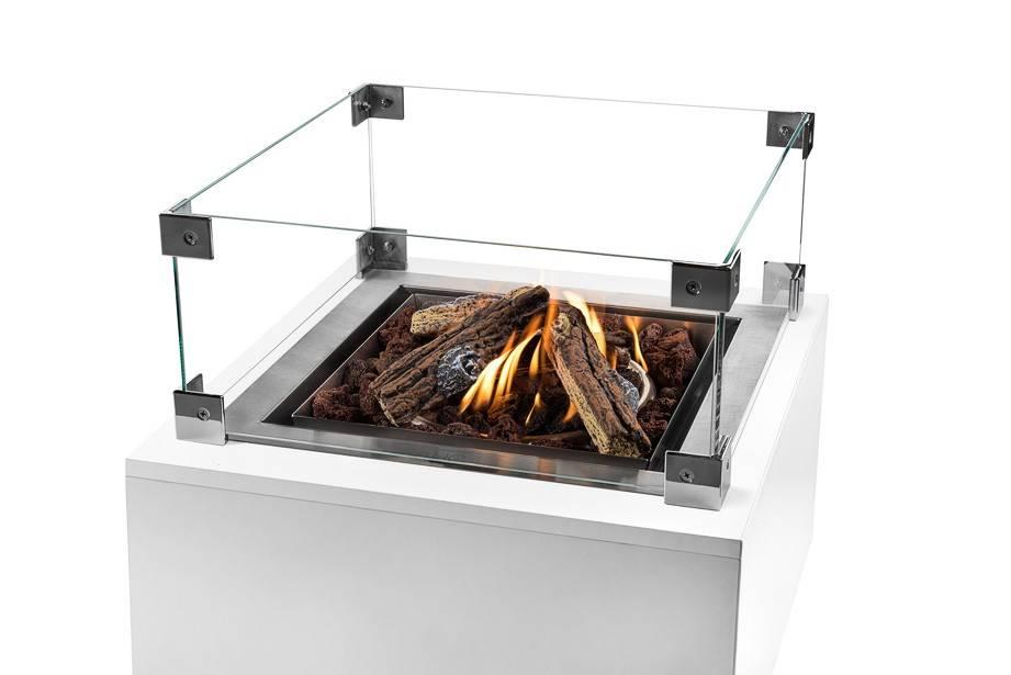 Cocoon Table Inbouwbrander Groot Vierkant